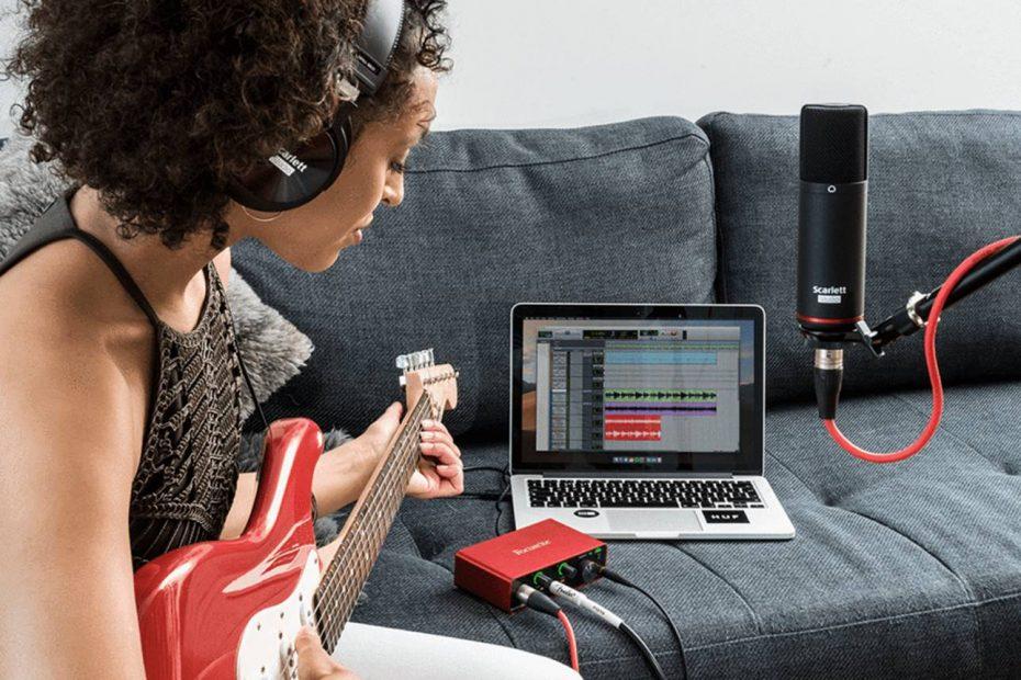 Home Recording Studio Bundle Kit